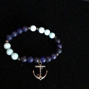 Merx Jewelry - Merx Two tone Blue Bracelet